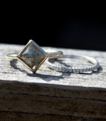 Scribble Ring and Eternity Band