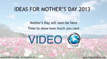 Ideas for Mother's Day: Good Gifts for Mom